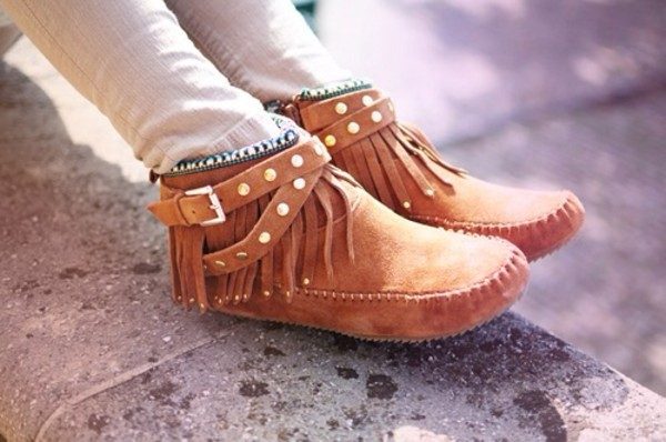 shoes indian style moccasins girly pattern comfy