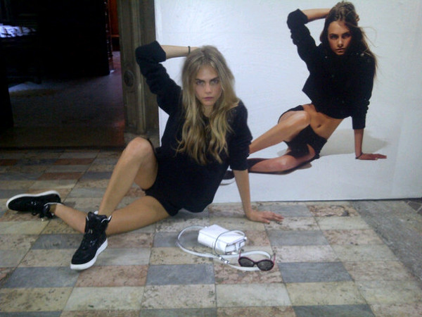 shoes model black and white black white cara delevingne high top sneakers bag shorts sweater