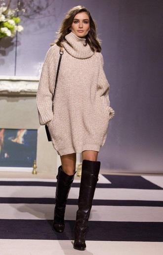 dress laine pull torsade wool