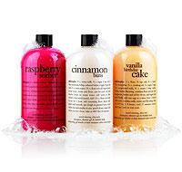 vanilla birthday cake | shampoo, shower gel & bubble bath | philosophy bath & shower gels