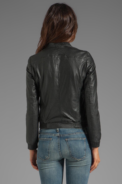 Muubaa Naniwa Blouson Jacket in Black   REVOLVE