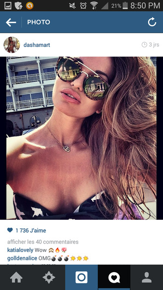 sunglasses glasses waves hair tan bikini swimwear summer