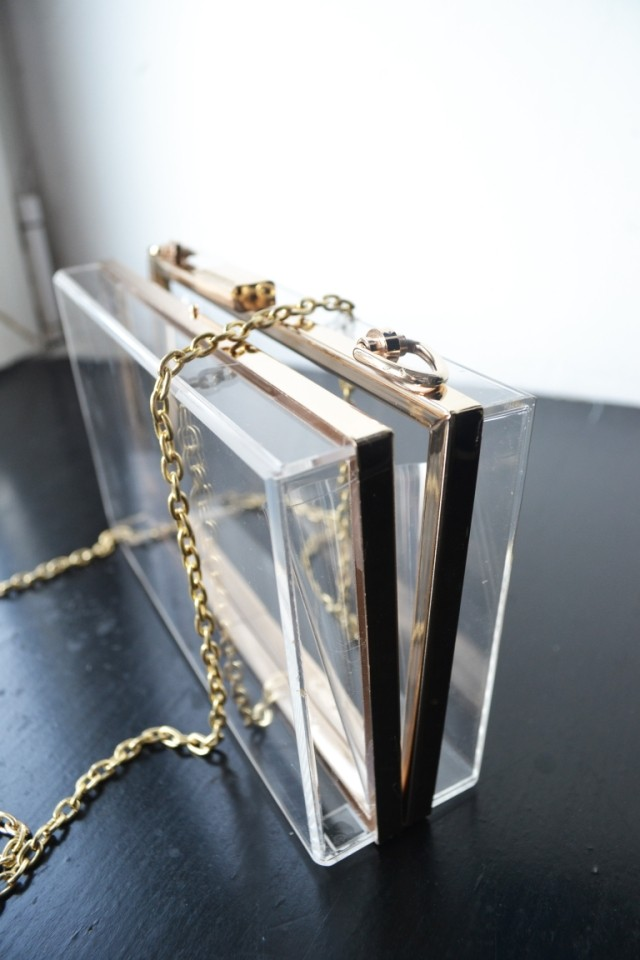 Aliexpress.com : Buy Free Shipping Alinnv acrylic fashion transparent hard case bags day clutch ! from Reliable clutch bag suppliers on ED FASHION