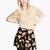 Mini Flared Vintage Floral Skirt : KissChic.com