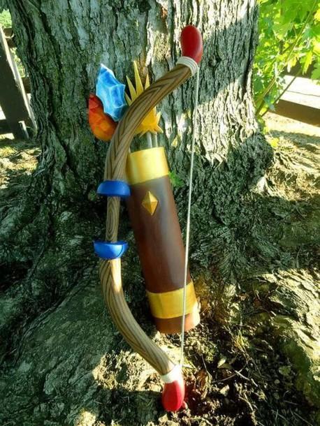 home accessory zelda bow and arrow