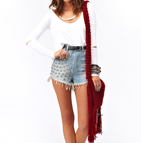 top short bag stylemoi hot fabulous summer outfits streetstyle