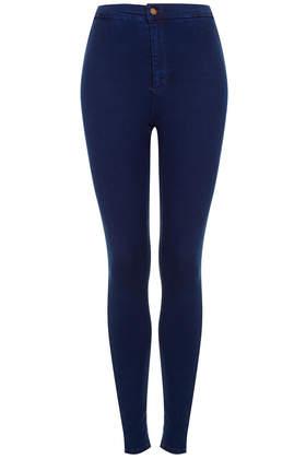 MOTO Hyper Blue Joni Jeans - Denim - Clothing - Topshop USA
