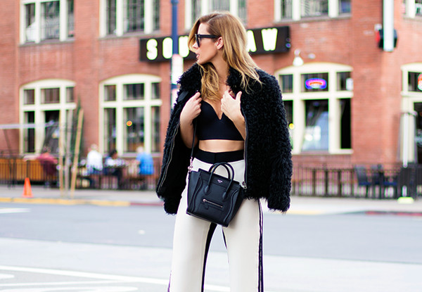 sunglasses coat t-shirt bag pants shoes