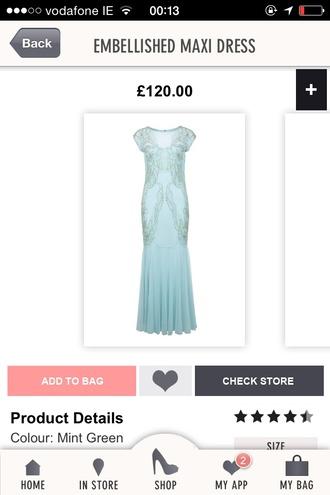 prom dress fishtail mint maxi dress miss selfridge sequin dress dress