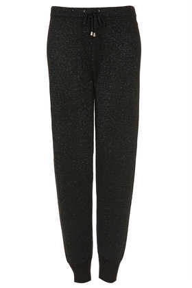 Knitted Sparkle Joggers - Trousers  - Clothing  - Topshop