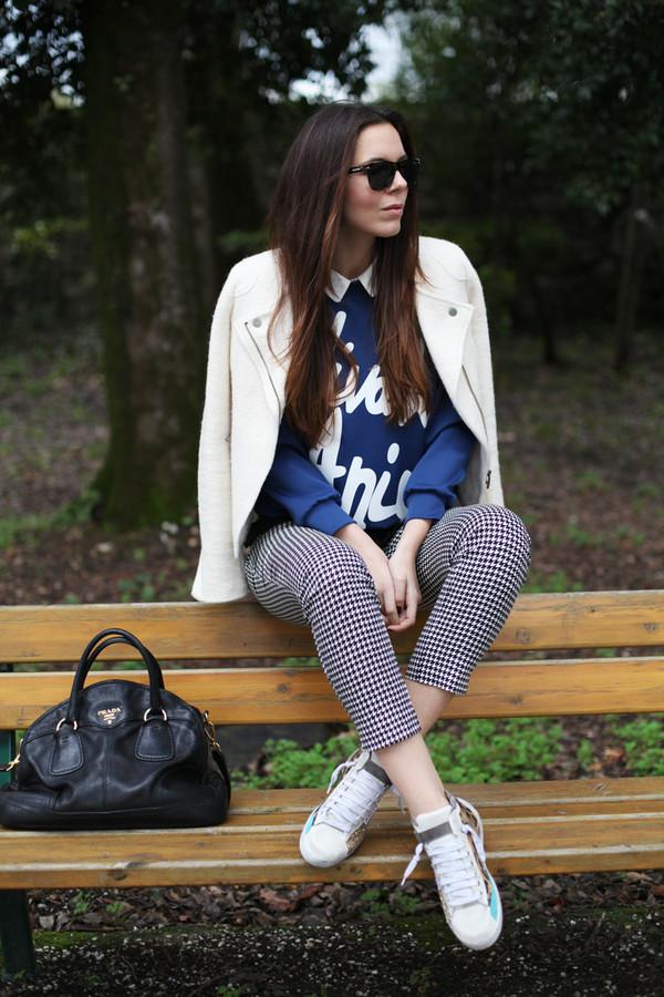 irene's closet sweater shoes shorts coat pants sunglasses bag
