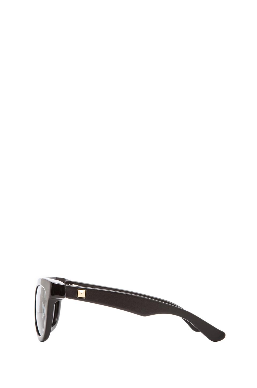ANINE BING New York Sunglasses in Black   REVOLVE