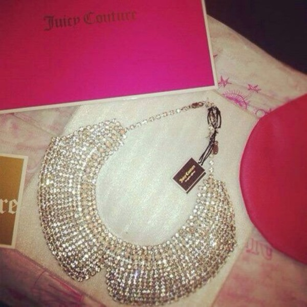 jewels necklace thick juicy couture