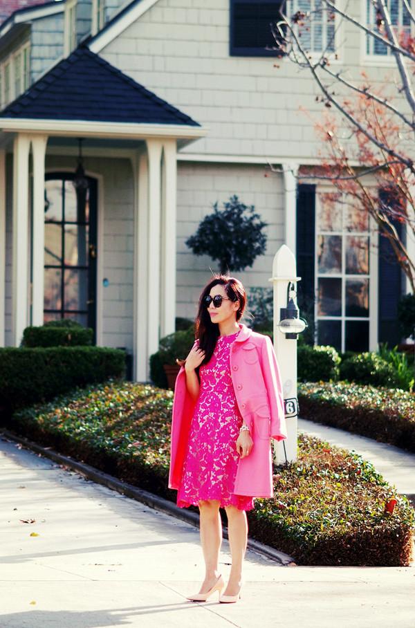 hallie daily dress coat shoes sunglasses
