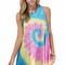 """just an illusion"" boho multicolor tie dye dress – glamzelle"