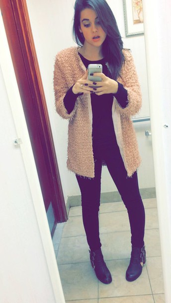 jacket natalie joy fur coat