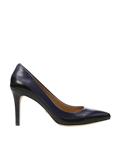 Alicia Colorblock Leather Pumps | Ann Taylor