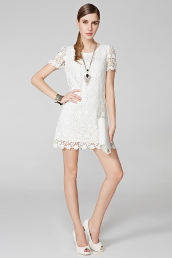 dress lace lace dress white lace dress persunmall