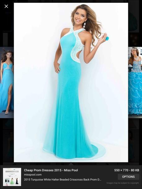 dress turquoise dress