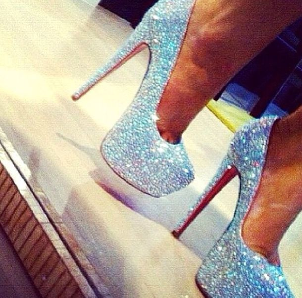 shoes cute shoes pretty shoes sparkly shoes cute high heels heels glittery shoes high heels
