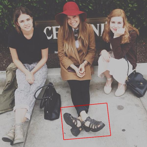 shoes black vintage fashion sandals