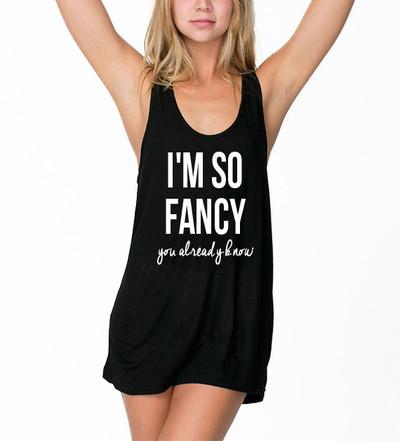 I'm So Fancy Tank Top · Luxury Brand LA · Online Store Powered by Storenvy