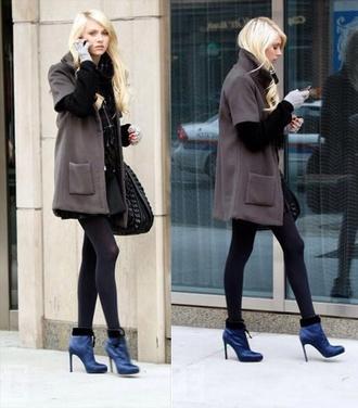 gossip girl jenny humphrey taylor momsen coat