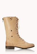 Pretty-Tough Combat Boots   FOREVER21 - 2000072135