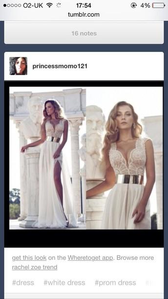 dress cream prom dress prom dress lace dress