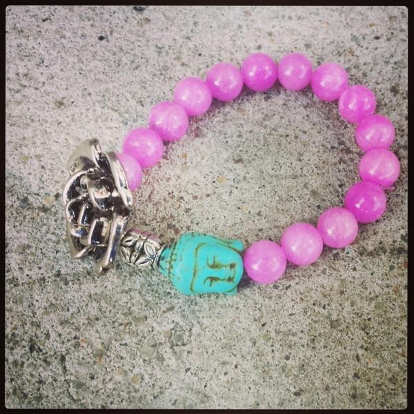 jewels bracelets buddha fashion accessories