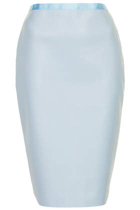 **PU Pencil Skirt by Love - Skirts - Clothing - Topshop