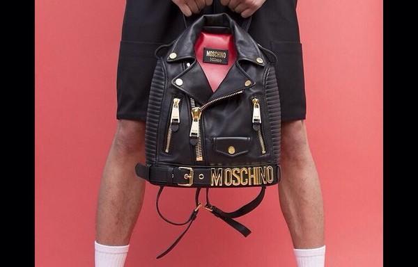 bag black jacket moshino black