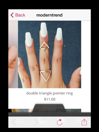 jewels double ring