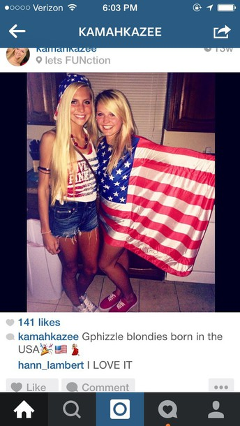 dress america red white and blue stars and stripes 'merica