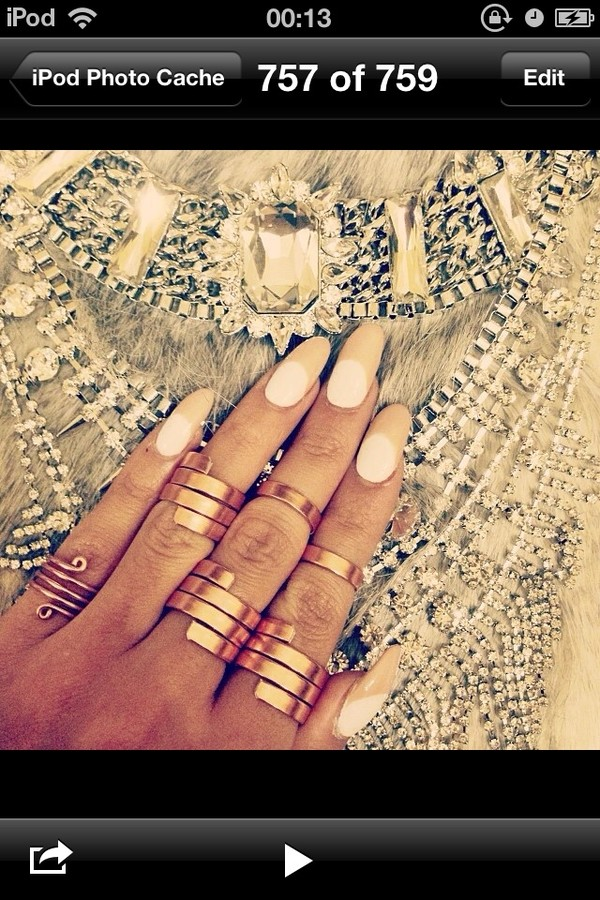 jewels ring gold ring gold mid finger rings