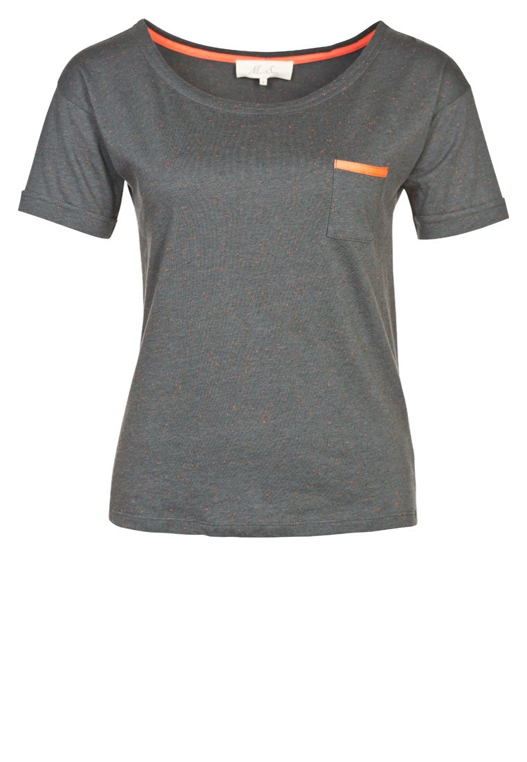 Marie-Sixtine CAMELIA - Basic T-shirt - grey - Zalando.co.uk