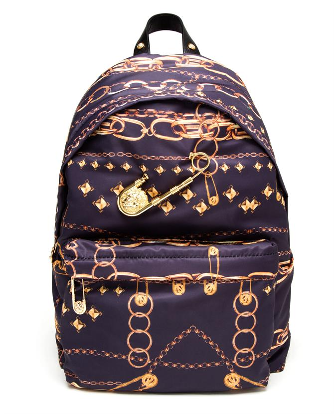 VERSUS | Gold Chain Printed Backpack | Browns fashion & designer clothes & clothing