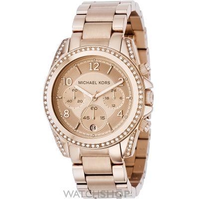 Ladies' Michael Kors Blair Chronograph Watch (MK5263) - WATCH SHOP.com™