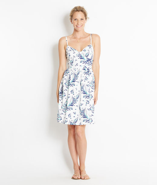 Shop Dresses: Sailboat Print Sun Dress for Women | Vineyard Vines