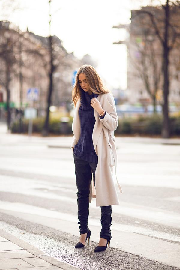 lisa olsson pants shoes sweater coat