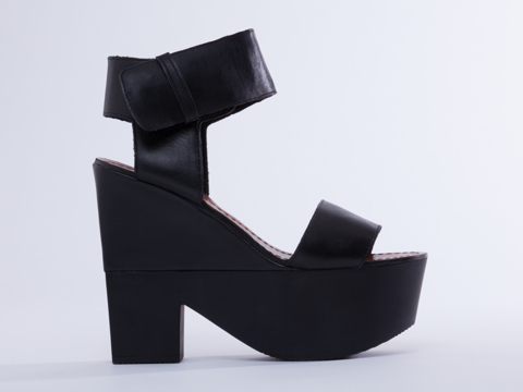 Windsor Smith Dion in Black Leather at Solestruck.com