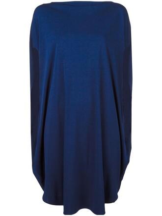 dress women slit blue