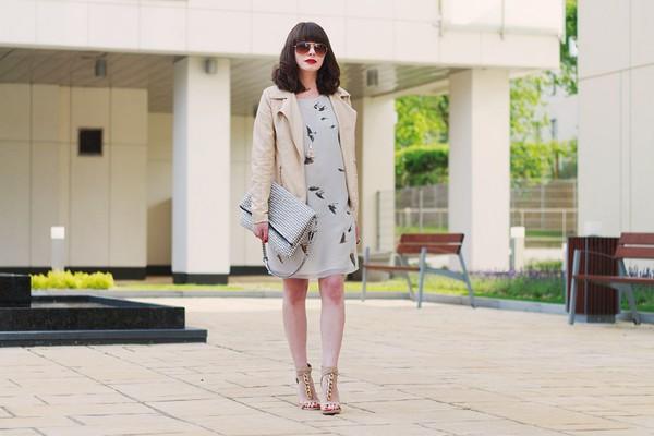 kapuczina dress jewels sunglasses shoes bag jacket