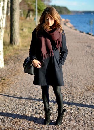 mariannan coat bag jewels scarf