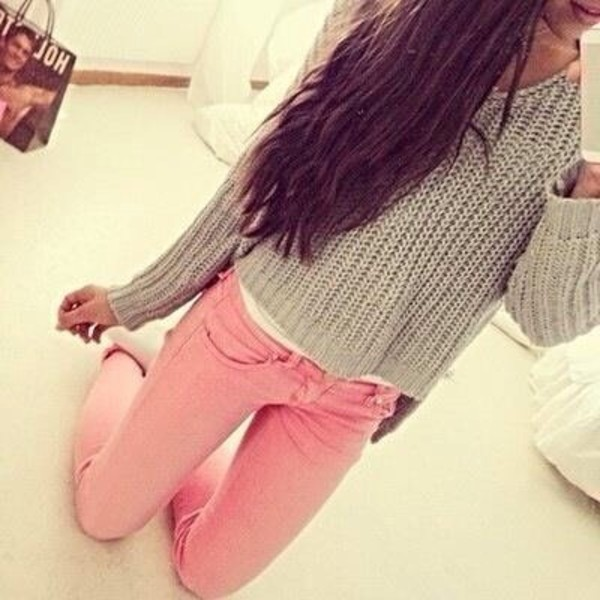 sweater pants blouse