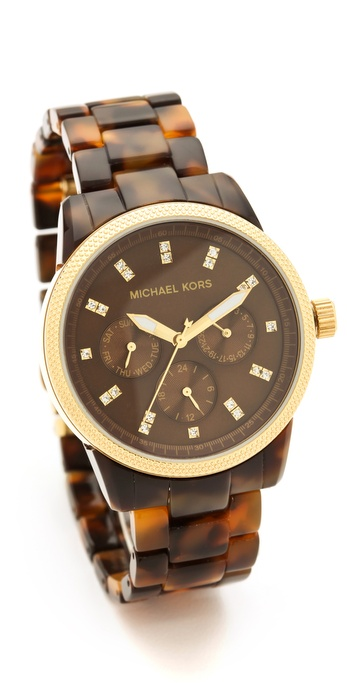 Michael Kors Watches Tortoise In Texture And Ivory Are The Most Sold Brand