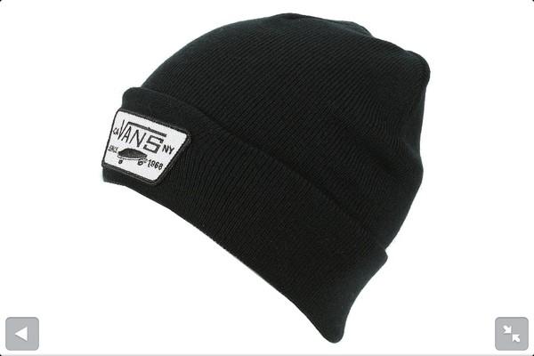 hat black vans