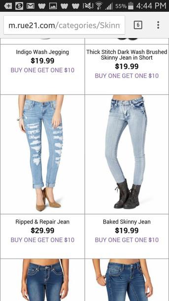 jeans light jeans