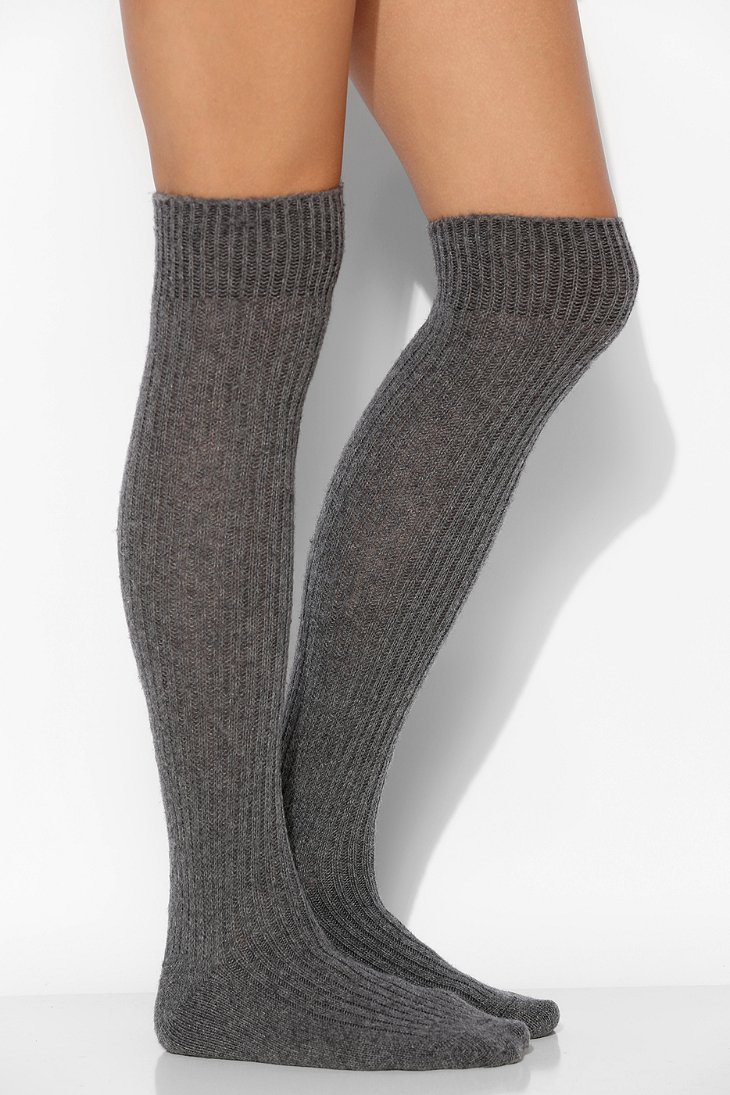 B.ella Cashmere Over-The-Knee Sock - Urban Outfitters