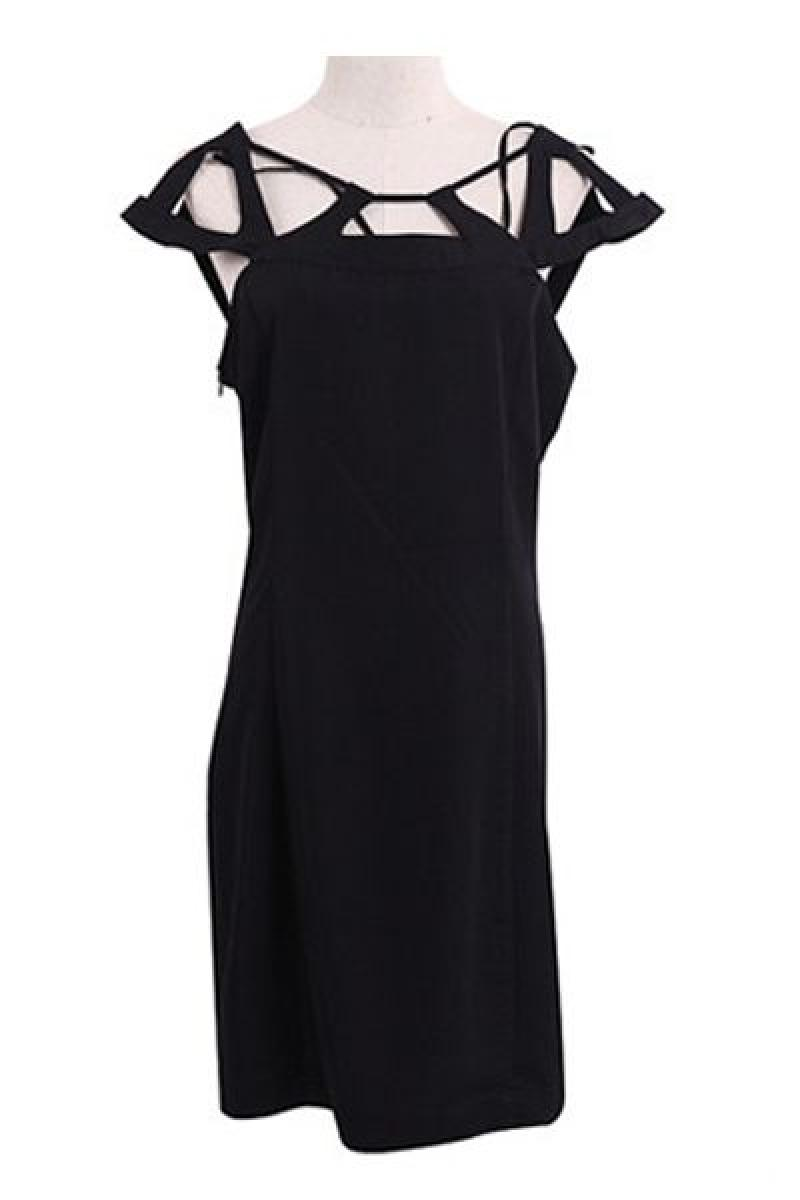Sexy Hollow Halter Backless Dress ,Cheap in Wendybox.com